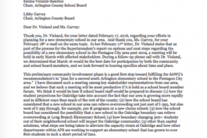 Letter regarding March 16 school board forum