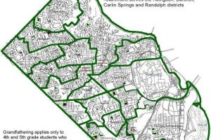 Potential Oakridge Elementary School Boundary Changes