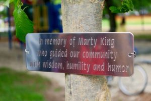 Marty King Memorial Tree