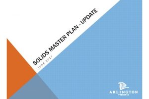 Water Pollution Control Plant – Solids Master Plan Presentation